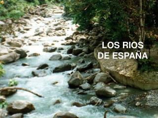 LOS RIOS  DE ESPAÑA