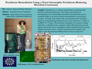 Perchlorate  Remediation Using a Novel Autotrophic  Perchlorate -Reducing Microbial Community