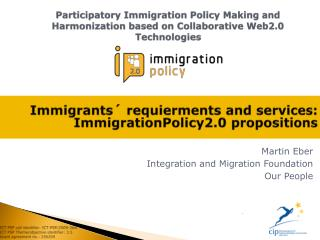 Martin Eber Integration and Migration Foundation Our People