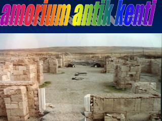 amorium antik kenti