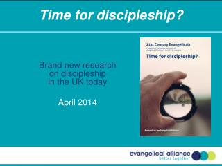 Time for discipleship?