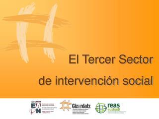 El Tercer Sector  de intervención social