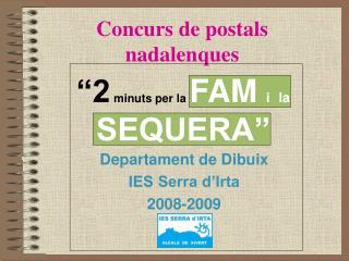 Concurs de postals nadalenques