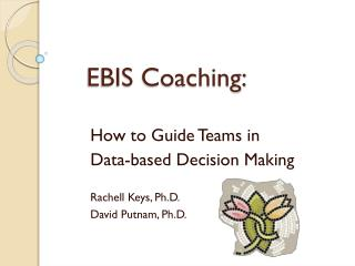 EBIS Coaching: