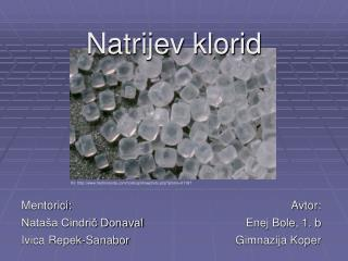 Natrijev klorid