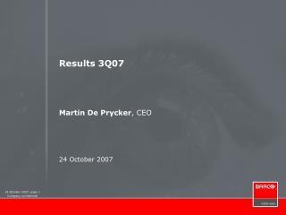 Results 3Q07