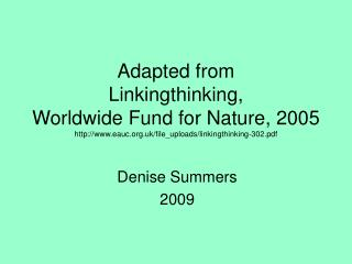 Denise Summers 2009