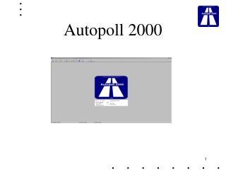 Autopoll 2000