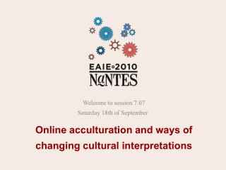 Online acculturation and ways of changing cultural interpretations