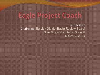 Eagle Project Coach