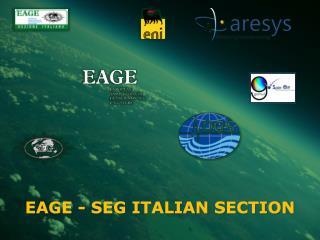EAGE - SEG ITALIAN SECTION