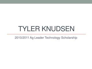 Tyler Knudsen