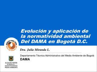 Departamento Técnico Administrativo del Medio Ambiente de Bogotá