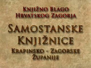 Knjižnica Franjevačkog samostana u Krapini