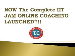 Online IIT JAM Course