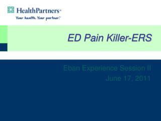 ED Pain Killer-ERS