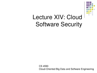 Management and Security Issues for Cloud Computing