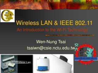 Wireless LAN & IEEE 802.11