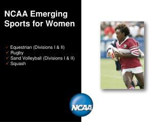 NCAA Emerging Sports for Women
