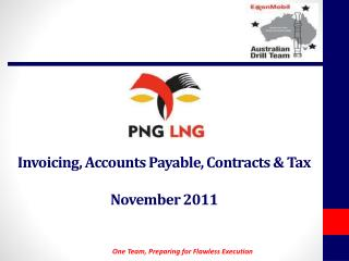 Invoicing ,  Accounts Payable,  Contracts  &  Tax November 2011