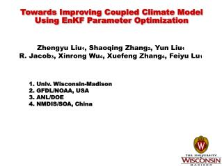 Towards Improving Coupled Climate Model Using  EnKF  Parameter Optimization