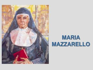 MARIA MAZZARELLO