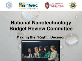 National Nanotechnology Budget Review Committee