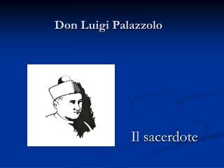 Don Luigi Palazzolo