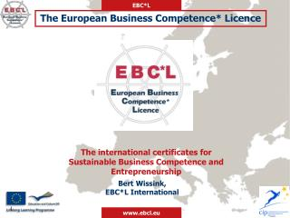 Bert Wissink,  EBC*L International