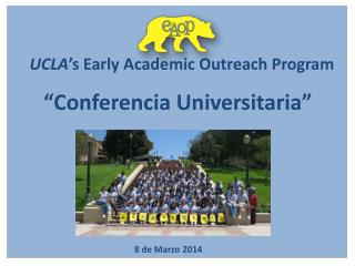 UCLA 's Early Academic Outreach Program
