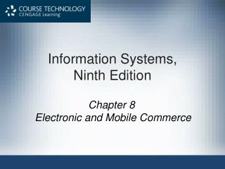 Information Systems,  Ninth Edition
