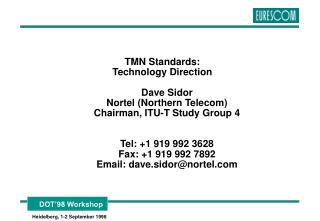 TMN Standards: