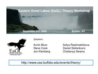 Eastern Great Lakes (EaGL) Theory Workshop