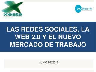 LAS REDES SOCIALES, LA WEB 2.0 Y EL NUEVO MERCADO DE TRABAJO
