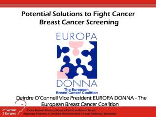 Potential Solutions to Fight Cancer  Breast Cancer Screening