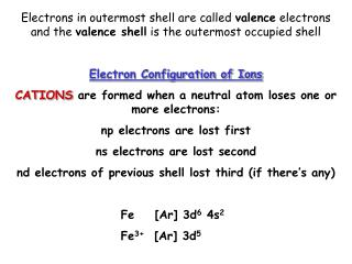 When you gain an electron, you gain a positive charge