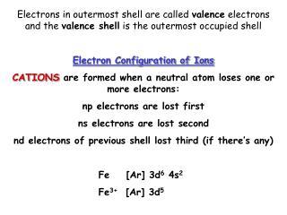 When you gain an electron, you gain a positive charge
