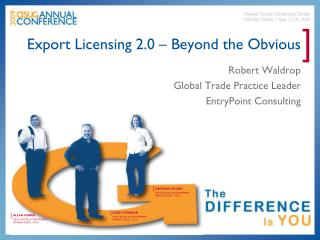 Export Licensing 2.0 – Beyond the Obvious