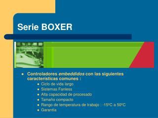 Serie BOXER
