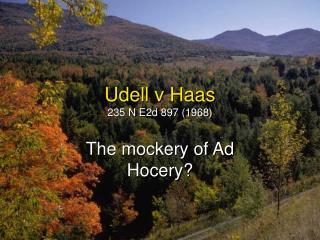 Udell v Haas 235 N E2d 897 1968