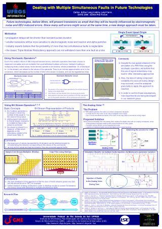 Carlos  Arthur Lang Lisbôa, Luigi Carro DATE 2006 - EDAA PhD Forum