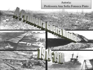 A Primeira Guerra Mundial  1914-1918
