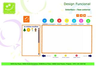 Interface – fase anterior