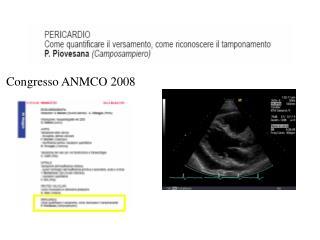 Congresso ANMCO 2008