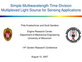 Simple Multiwavelength Time-Division Multiplexed Light Source for Sensing Applications