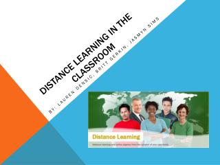Distance Learning in the classroom