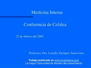 Conferencia de Cefalea