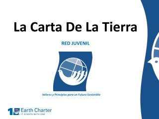 La Carta De La Tierra RED JUVENIL