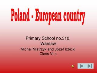Primary School no.310, Warsaw