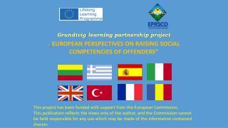 Grundtvig  learning partnership  project